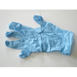 Latex Disposable handschoenen Blauw Ongepoederd Maat XL