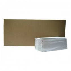 Handdoekpapier z-vouw naturel