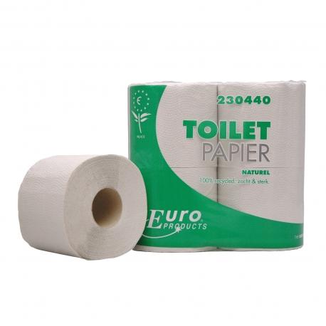 Toiletpapier Eco 400 vel naturel 1 lgs 10 x 4 rol p/pak
